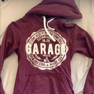 Garage hoodie size small